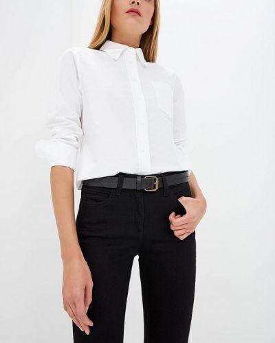 Белая рубашка с длинным рукавом Calvin Klein