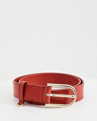 Красный ремень Furla
