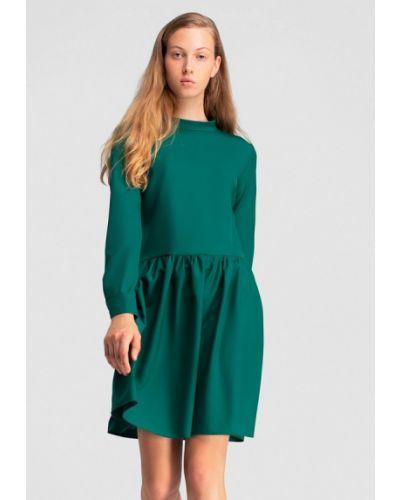 Платье прямое осеннее Grass