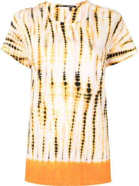 Прямая хлопковая с рукавами рубашка Proenza Schouler