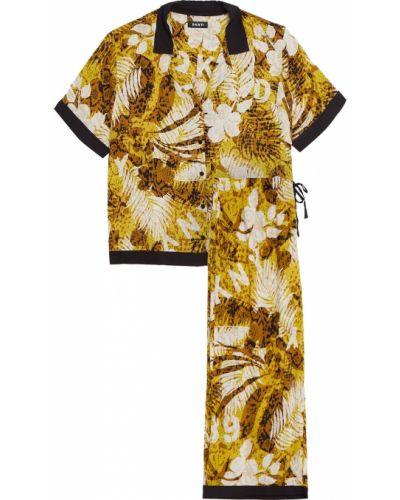 Пижамная пижама с карманами из вискозы Dkny