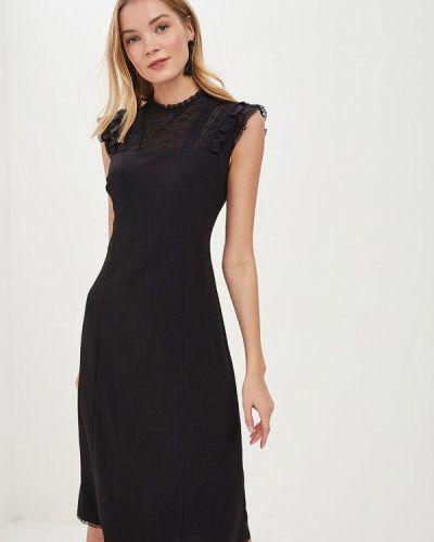 Джинсовое платье - черное Lusio