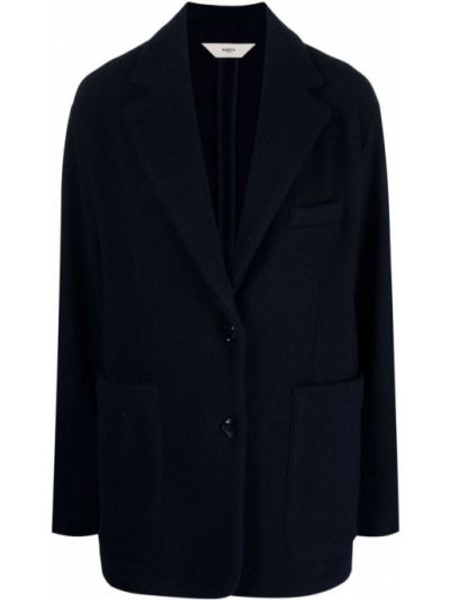 Шерстяной пиджак - синий Barena