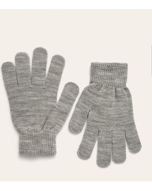 Серые текстильные перчатки длинные Tally Weijl