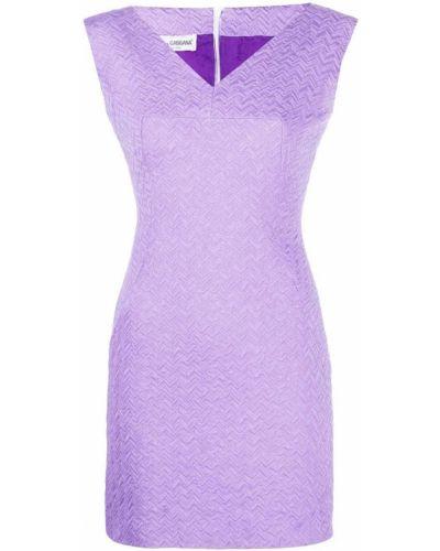 Прямое платье с вышивкой с V-образным вырезом без рукавов Dolce & Gabbana Pre-owned