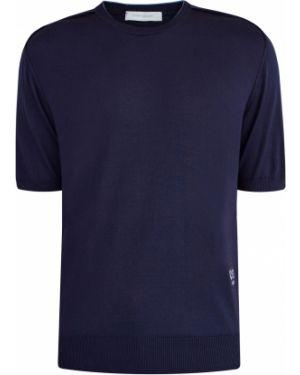 Спортивная футболка из плотной ткани с нашивками Cortigiani