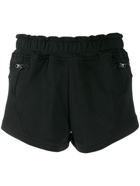Спортивные шорты черные Adidas By Stella Mccartney