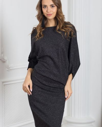 Платье трикотажное лапша азалия