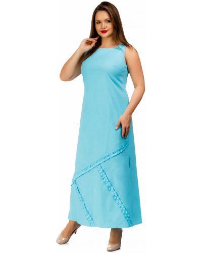 Летнее платье с разрезами по бокам платье-сарафан Liza Fashion
