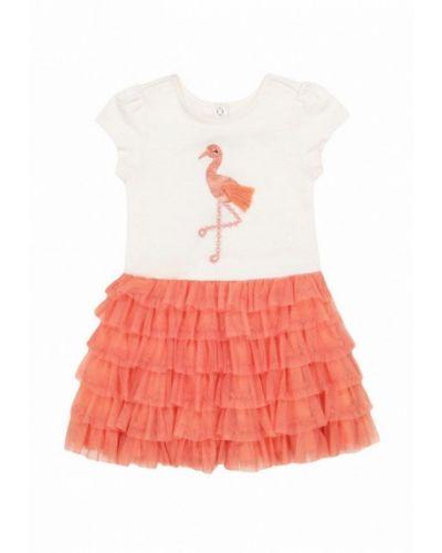 Повседневное коралловое платье Mothercare