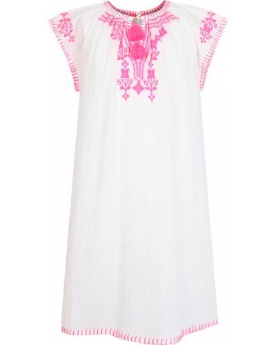 Пляжное белое платье Sunuva