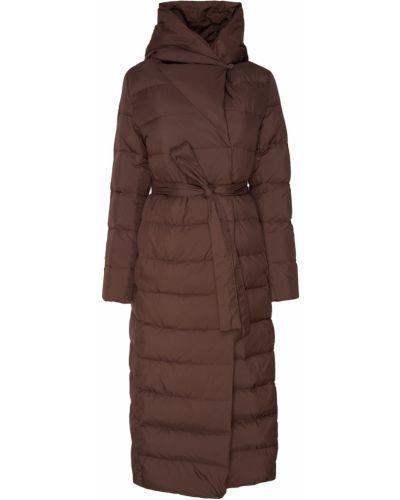 Пальто с капюшоном длинное на кнопках Akhmadullina Dreams