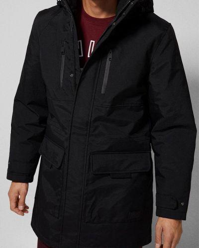 Зимняя куртка осенняя черный Springfield