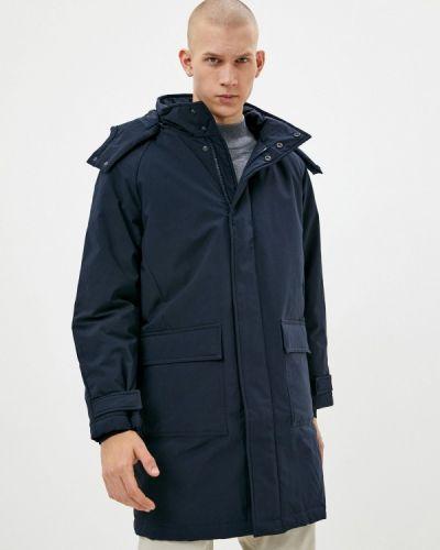 Свободная утепленная синяя куртка Finn Flare