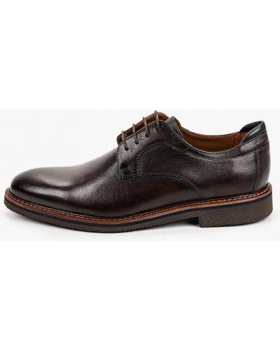 Кожаные туфли - коричневые Salamander