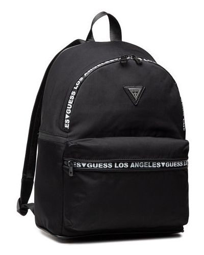 Czarny plecak sportowy Guess