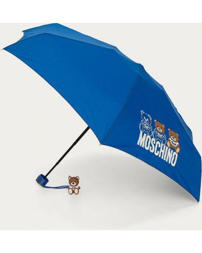 Niebieski parasol Moschino