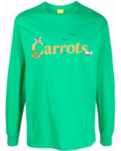 Zielona bluza bawełniana Carrots