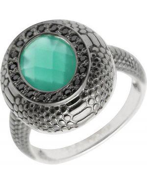Кольцо из серебра черный серебро россии