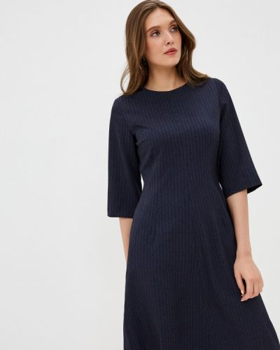 Прямое синее платье Vittoria Vicci