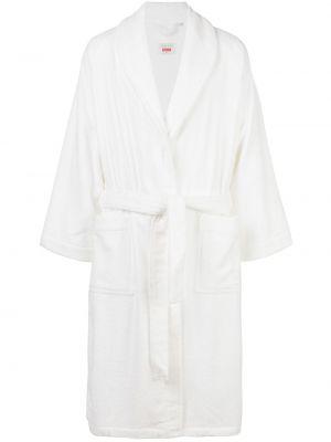 Biały szlafrok bawełniany Supreme