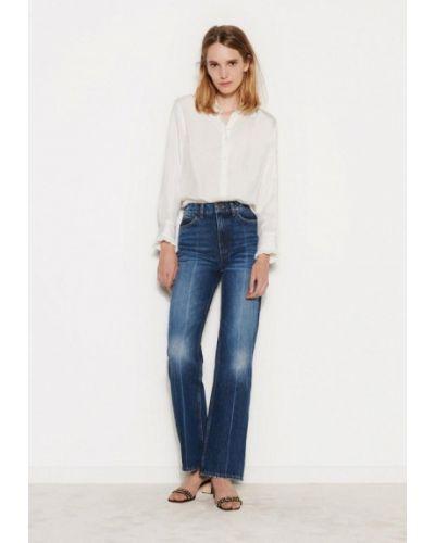 Прямые синие прямые джинсы Sandro