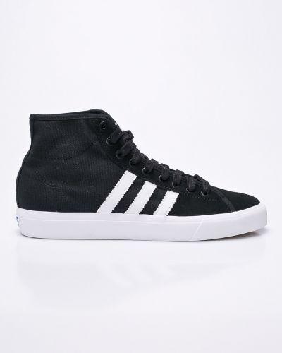 Черные высокие кеды Adidas Performance