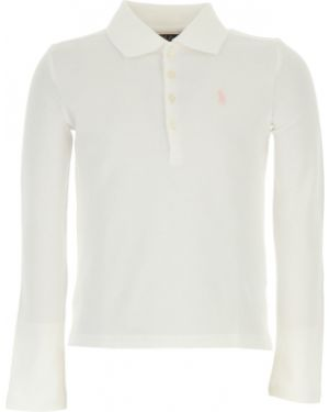 T-shirt bawełniana - biała Ralph Lauren