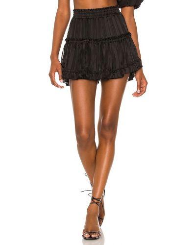 Шифоновая юбка - черная Misa Los Angeles