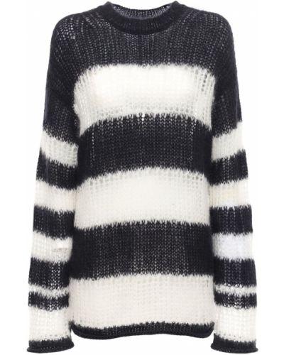 Sweter w paski moherowy Kenzo