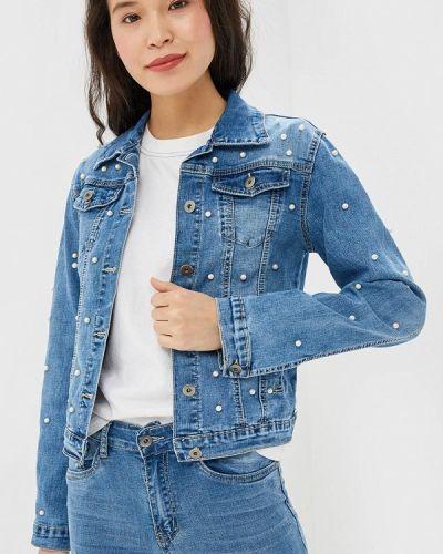 Джинсовая куртка - синяя Macleria