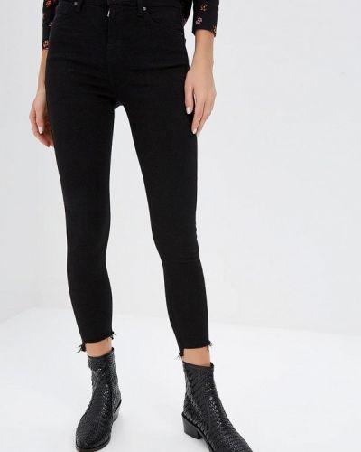 Черные джинсы-скинни Topshop