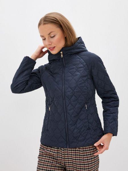Теплая синяя утепленная куртка Baon