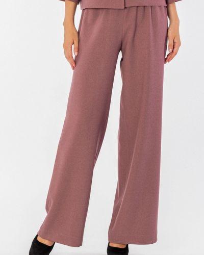 Свободные брюки розовый S&a Style