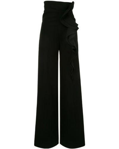 Черные свободные брюки свободного кроя Azzi & Osta