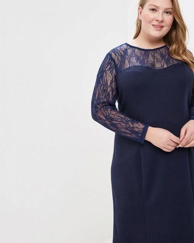 Вечернее платье - синее Jp