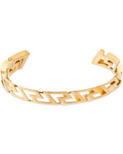 Браслет металлический - золотой Versace