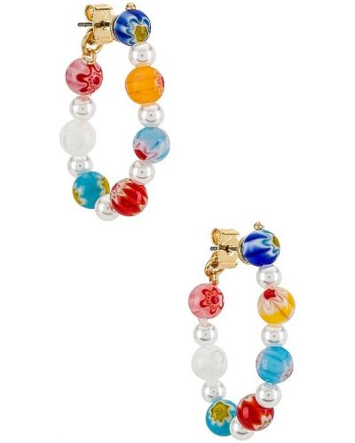 Klasyczne kolczyki sztyfty perły z akrylu Baublebar