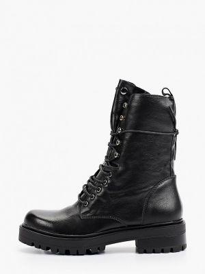 Черные кожаные полуботинки Ideal Shoes®