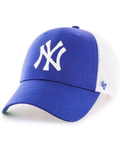 Синяя кепка с вышивкой 47brand