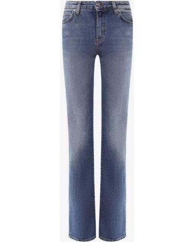 Расклешенные джинсы синие Two Women In The World