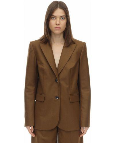 Пиджак шерстяной на пуговицах Lesyanebo