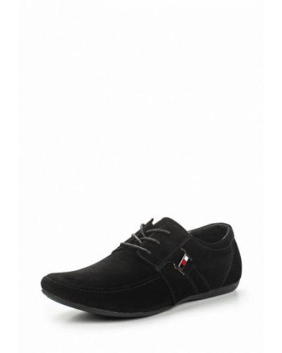 Черные туфли велюровые Go.do.