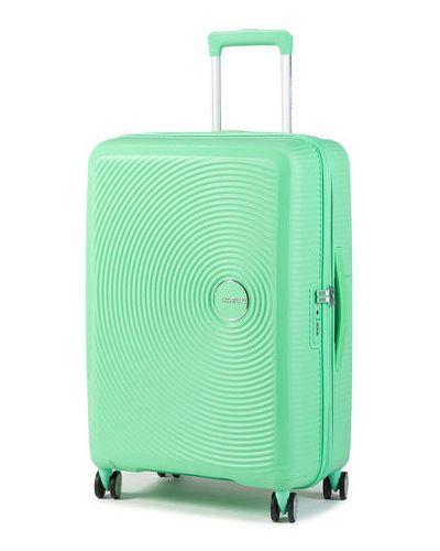Zielona walizka średnia American Tourister