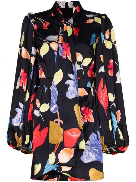 Платье мини с цветочным принтом платье-рубашка Peter Pilotto
