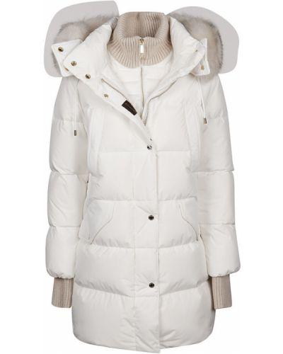 Biała kurtka Moorer