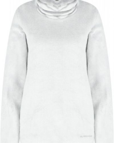 Флисовый джемпер - белый Glissade