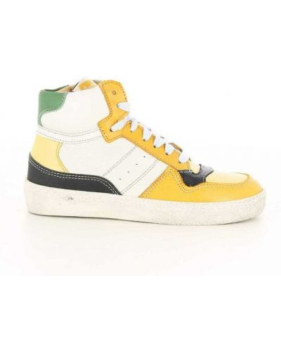 Żółte sneakersy Ocra