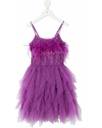 Фиолетовое платье из фатина Tutu Du Monde