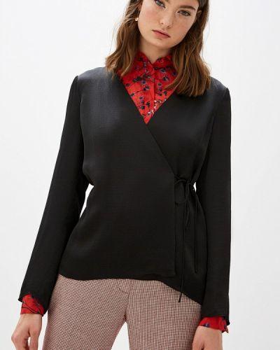 Блузка с длинным рукавом черная Theory